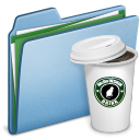 Blue Coffee 2 Icon