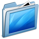Blue Desktop Icon