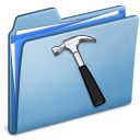 Blue Developer Icon