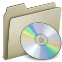 Lightbrown CD Icon