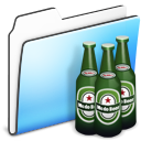 Beer Folder smooth Icon