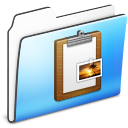 Clipboard Folder smooth Icon