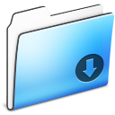 Drop Folder smooth Icon