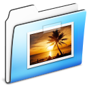 Pictures Folder smooth Icon