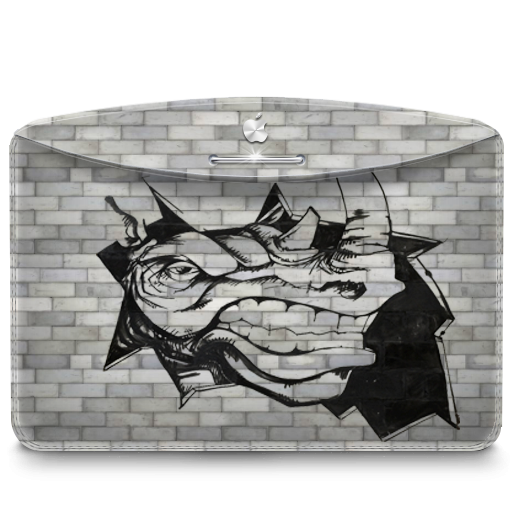 Folder Graffiti Rhino Icon