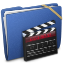 Blue Elastic Movie Icon