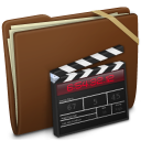 Brown Elastic Movie Icon