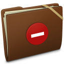 Brown Elastic Private Icon