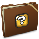 Brown Elastic Question Icon
