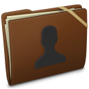 Brown Elastic User Icon