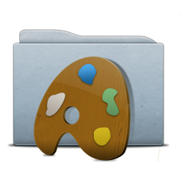 Folder Graphite Palette Icon