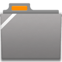 Generic Badged Orange Icon