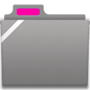Generic Badged Pink Icon