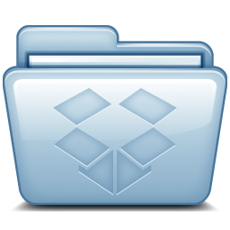 Blue Dropbox Icon