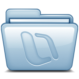 Blue Microsoft Office Icon
