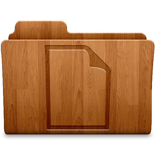 Document Wood Icon