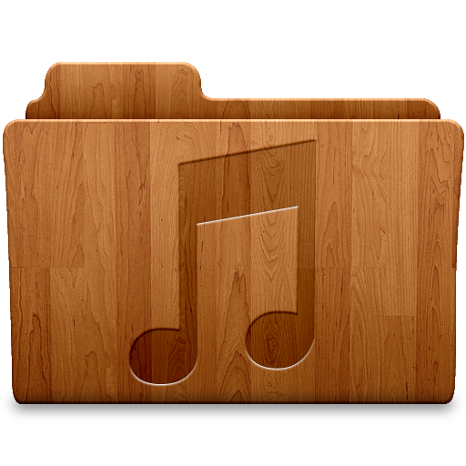 Music Wood Icon