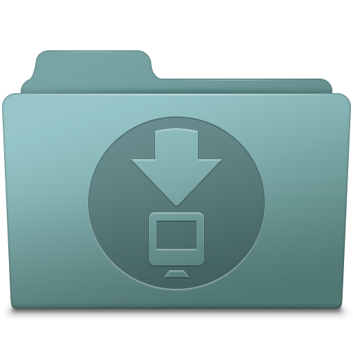 Downloads Folder Willow Icon