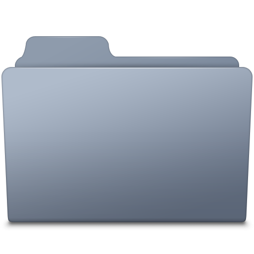Generic Folder Graphite Icon