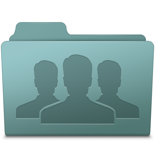 Group Folder Willow Icon