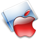 Apple strawberry Icon