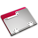 Strawberry Folder Icon