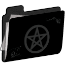 Pentacle Folder (silver) Icon