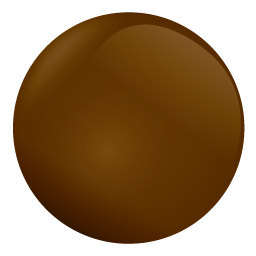 chocolate ball Icon