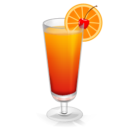 Cocktail Tequila Sunrise Vector Icons Free Download In Svg Png Format