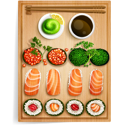 Sushi 1 Vector Icons Free Download In Svg Png Format