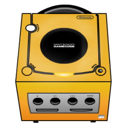 Gamecube orange Icon