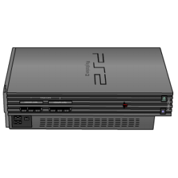 Playstation 2 silver Icon
