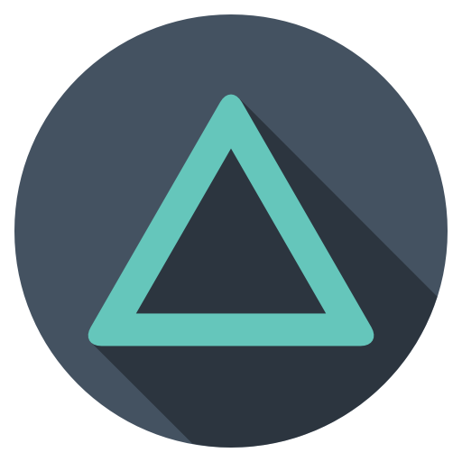 playstation triangle dark icon free download as png and