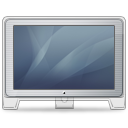 Cinema Display old front graphite Icon