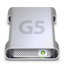 G5 Labeled Drive Icon