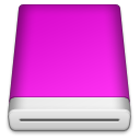 Pink Blank Icon