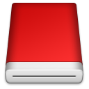 Red Blank Icon