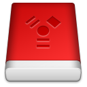 Red FireWire Icon