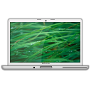 MacBook Pro Glossy Grass PNG Icon