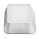blank keyboard key Icon