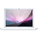 White Macbook Aura Icon