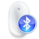 Mouse front blue Icon