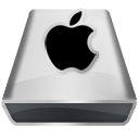 White Apple Icon