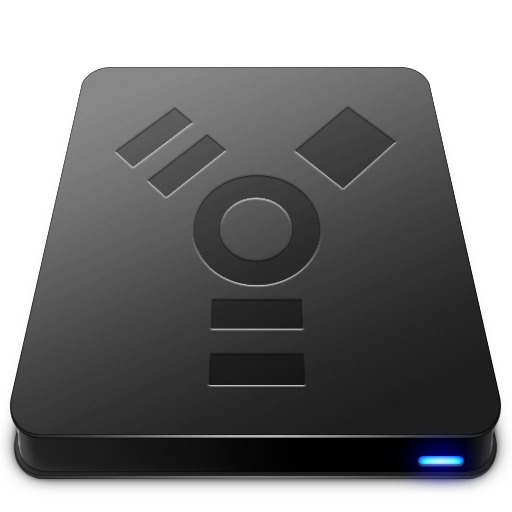 FireWire Black Icon