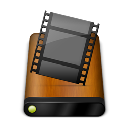 Wood Drive Movies Icon