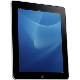 Ipad Side Blue Background Vector Icons Free Download In Svg Png Format