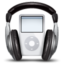 ipod music 128x128 Icon