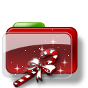 Christmas Folder Candy Icon