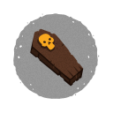 Halloween Coffin Icon