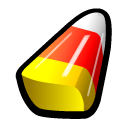 Yellow Candy Corn Icon